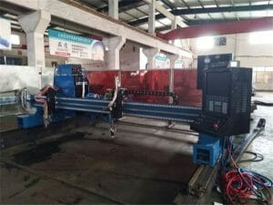 Aluminium-Gantry-CNC-plasma--flamme-Cutting-Machine45